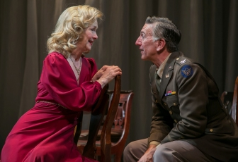 """Marion Adler and Scott Wentworth co-star as Beatrice and Benedick in """"Much Ado About Nothing"""" at the Shakespeare Theatre of New Jersey in Madison."""