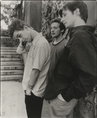 Green Day, in one of their early publicity photos.