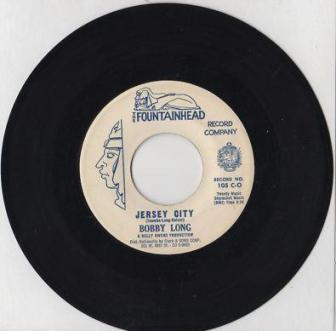 "The 1960 single ""Jersey City,"" by Bobby Long."