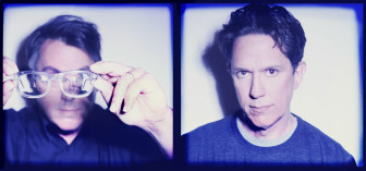 John Flansburgh, left, and John Linnell of They Might Be Giants.