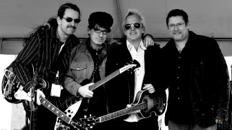 The Weeklings (from left, John Merjave (Rocky Weekling), Bob Burger (Zeek Weekling), Glen Burtnik (Lefty Weekling) and Dave Anthony (Ramblin' Dave Weekling).