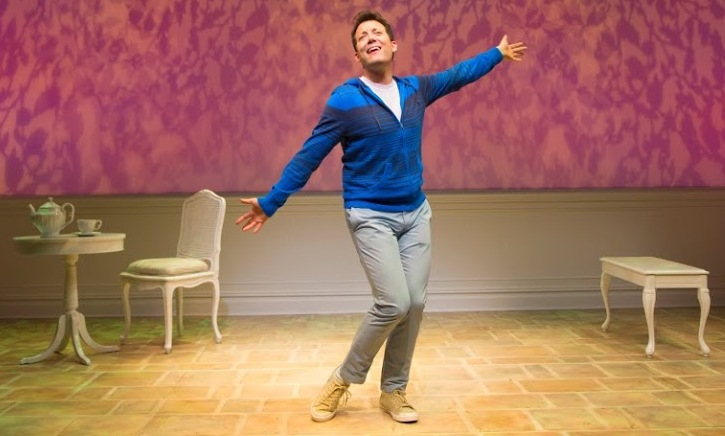 """John Tartaglia stars in """"Buyer and Cellar"""" at the George Street Playhouse in New Brunswick, through March 29."""