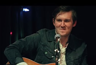Brian Fallon at Crossroads in Garwood.