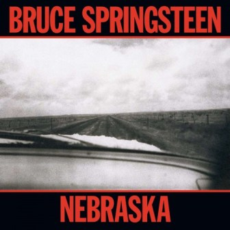 "The cover of Bruce Springsteen's ""Nebraska"" album."