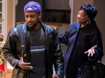 """Landon Woodson and Stephanie Berry co-star in """"Repairing a Nation,"""" which is at the Crossroads Theatre Company in New Brunswick through March 8."""