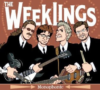 The cover of The Weeklings' self-titled debut album.
