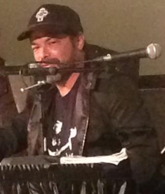 "Robert Trujillo of Metallica talks about ""Jaco"" at the Paramount Theatre on Saturday."
