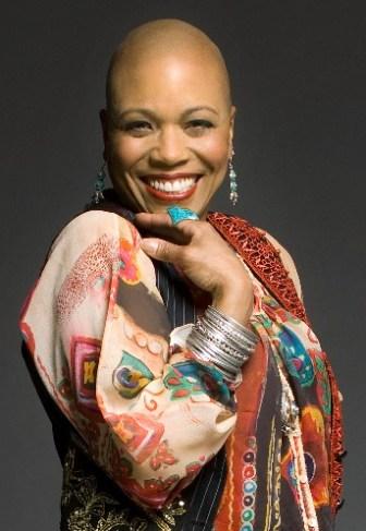 Dee Dee Bridgewater performs at the Newark Museum on June 19