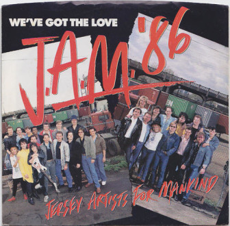 """The cover of the """"We've Got the Love"""" single."""
