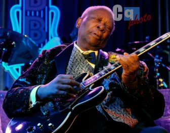 The late B.B. King made a surprise appearance at a New Jersey Phish concert in 2003.