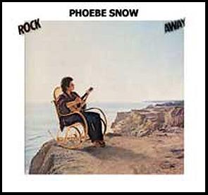 "The cover of Phoebe Snow'1981 album, ""Rock Away."""