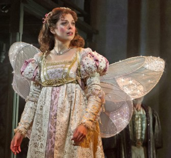 """Margo Seibert plays the main characters, Danielle de Barbarac, in """"Ever After,"""" which is at the Paper Mill Playhouse in Millburn through June 21."""