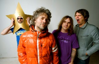 The Flaming Lips will perform at the Gentlemen of the Road Stopover festival at 6:45 p.m. today.