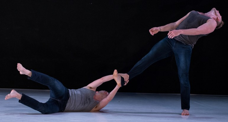 """""""Covariance,"""" by , was one of the dances performed by 10 Hairy Leg in New York June 10-14."""