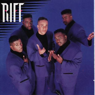 The cover of Riff's self-titled 1991 debut album.