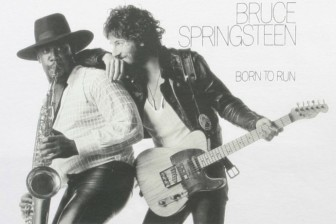 """The cover image of Bruce Springsteen's """"Born to Run"""" album."""