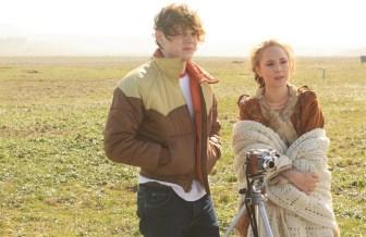 "Evan Peters and Juno Temple in ""Safelight."""