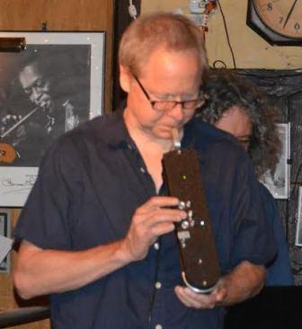 John Swarna plays EVI at 55 Bar.