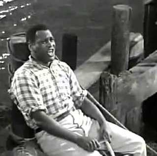 """Paul Robeson in """"Show Boat."""""""