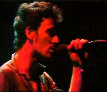 "Bruce Springsteen sings ""Racing in the Street"" in Houston in 1978,"