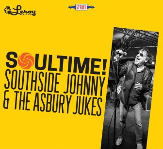 """The cover of Southside Johnny's album, """"Soultime!"""""""
