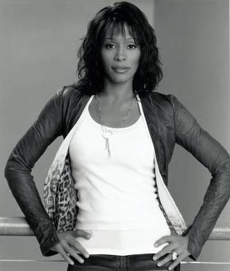 Whitney Houston, in a publicity photo.