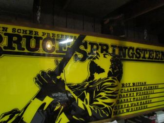 The marquee made for Bruce Springsteen and the E Street Band's shows at the Capitol Theatre in 1978 will be displayed at Where Music Lives in Asbury Park this month, and in December.