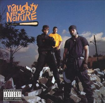 The cover of Naughty by Nature's debut 1991 self-titled album.