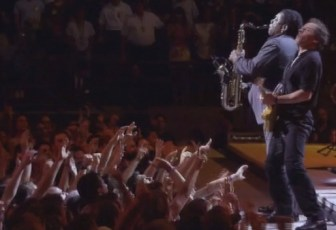 """Bruce Springsteen and Clarence Clemons play """"Thunder Road."""""""