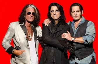 Joe Perry, Alice Cooper and Johnny Depp perform music together in the band, Hollywood Vampires.