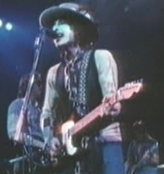 Bob Dylan, as seen in the movie