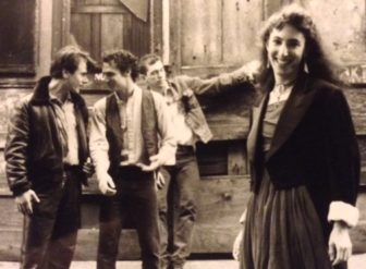 The Cucumbers, shown in a 1980s publicity photo, are reuniting for a May 13 concert at Rent Party in Maplewood.