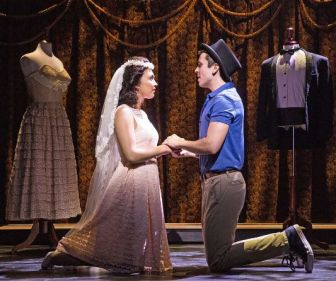 """Belinda Allyn and Matt Doyle co-star as Maria and Tony in """"West Side Story,"""" at the Paper Mill Playhouse in Millburn."""