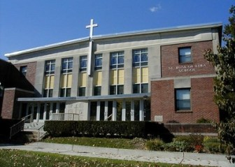 An image of the St. Rose of Lima school, from its web site, stroseoflimafreehold.com.