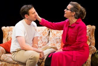 """Michael Goldsmith plays Lee Harvey Oswald, with Betsy Aidem as his mother, in """"Mama's Boy,"""" which is at the George Street Playhouse in New Brunswick through Nov. 6."""