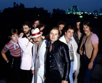 """A vintage image of Southside Johnny & the Asbury Jukes, used in the documentary, """"History of Southside Johnny and the Asbury Jukes, Part 1."""""""