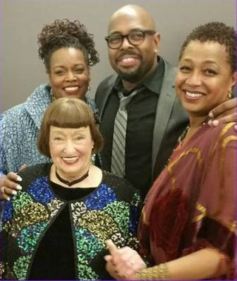 Clockwise from top left, Dianne Reeves, Christian McBride, Lisa Fischer and Sheila Jordan paid tribute to the late Sarah Vaughan at NJPAC in Newark, Nov. 19.