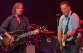 Jackson Browne and Bruce Springsteen