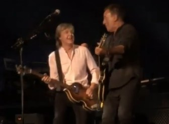 Springsteen And Van Zandt Join Paul Mccartney At Madison Square Garden With Video Njarts