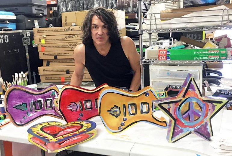 paul stanley of kiss to show artwork at short hills gallery. Black Bedroom Furniture Sets. Home Design Ideas