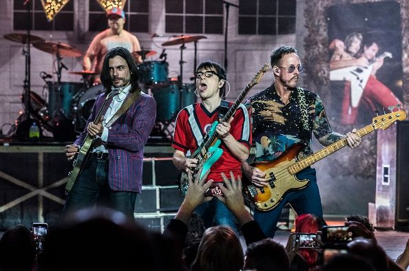 Weezer, Pixies and Sleigh Bells at PNC Bank Arts Center