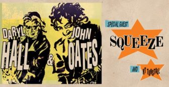 Hall Oates Squeeze NJ