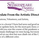 Shakespeare nj postpone
