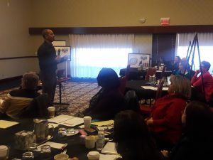 Bob Atkins of NJHI presents on the role of school nurses within the wider communities, beyond the walls of their schools.