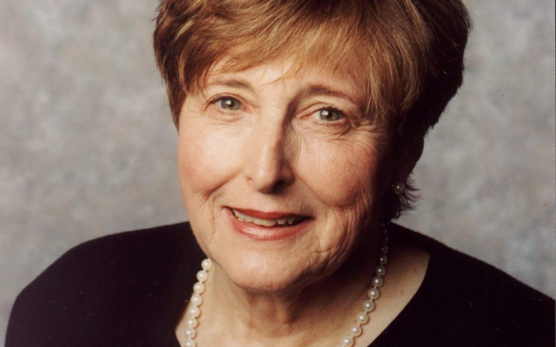 In Memory of      Dr. Geri Dickson, Inaugural Executive Director