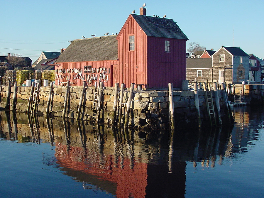 Camden And Rockport Maine In The Middle Of Down East