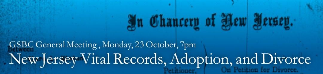 New Jersey Vital Records, Adoption, and Divorce @ Ridgewood Public Library | Ridgewood | New Jersey | United States