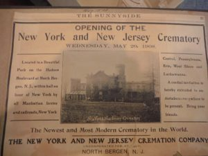 GSBC Field Trip > Garden State Crematory @ Garden State Crematory (formerly the New York and New Jersey Crematory)