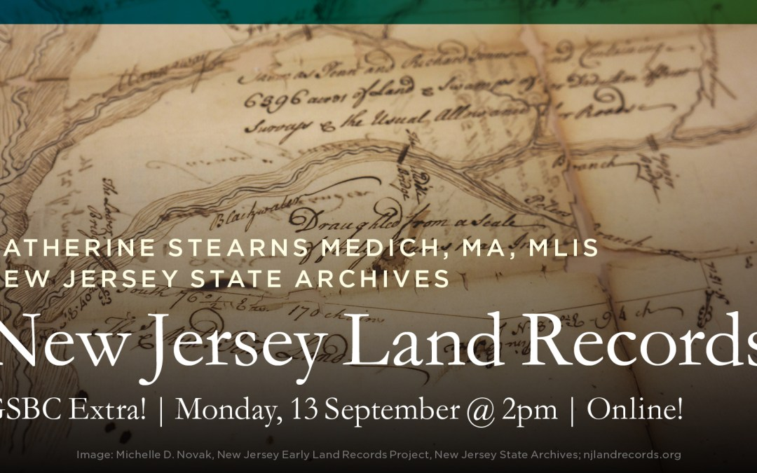 New Jersey Land Records at the New Jersey State Archives