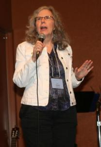 N. J. speaking at Write! Canada 2012